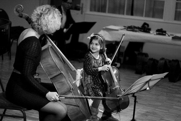 Cellounterricht mit Spass und Freude