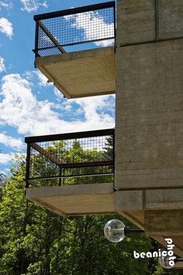 Balcon vers la montagne - Flaine Forum
