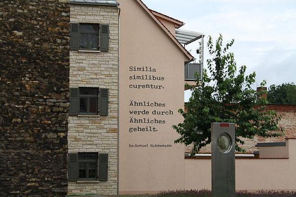 """Homöopathischer Stadtrundgang"" in Köthen"