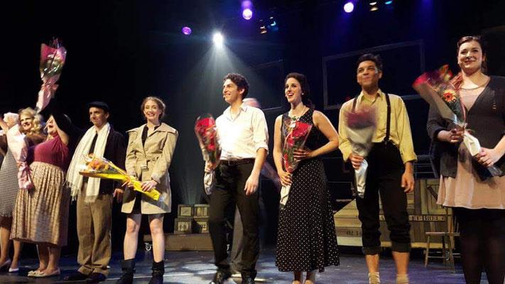 Première d'Amsterdam au Théâtre des Grands Chênes de Kingsey Falls (photo : Nancy Perreault)