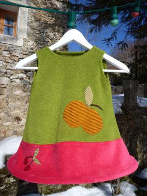 """Robe Pépette """"Des pommes ..."""""""