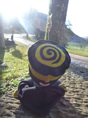 """Chapeau et Tour de cou """"Un tourbillon au vert"""""""