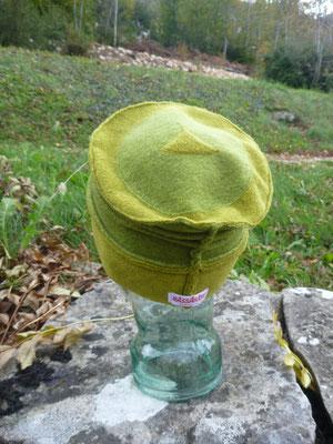 """Chapeau """"En dégradé de verts"""""""