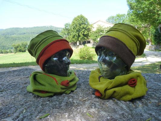 Dans la série Chapeaux rigolos et Tours de cou ...