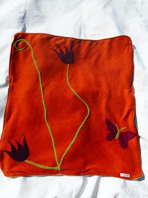 """La couverture emballante """"Au jardin ..."""""""