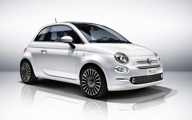 Bei Autohaus Strasser im Herzen Rosenheims - der neue Fiat 500