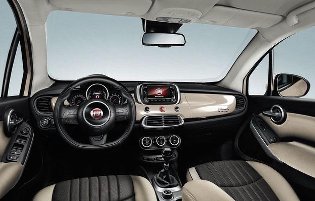 FIAT 500X City Look Innenraum