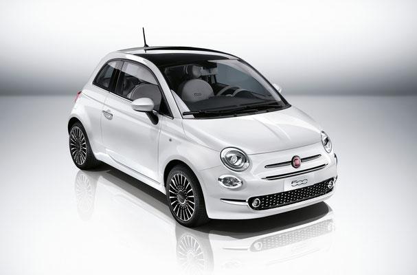 Eine Schönheut mit Charakter. Der neue Fiat 500 bei Autohaus Strasser in Rosenheim