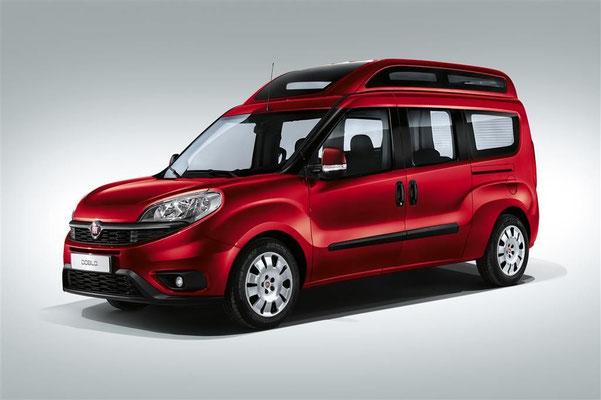 Fiat Doblo, der praktische Van für aktive Familien in Rosenheim