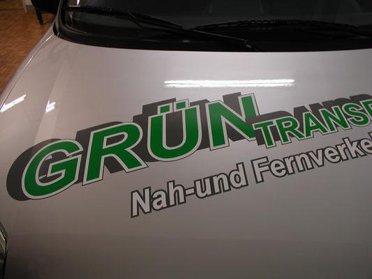 Fahrzeugbeschriftung in Backnang, Front