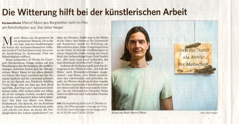 Einzelausstellung Kornwestheim