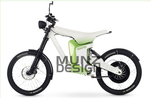 El Moto Designstudie
