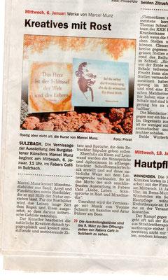Einzelausstellung Sulzbach