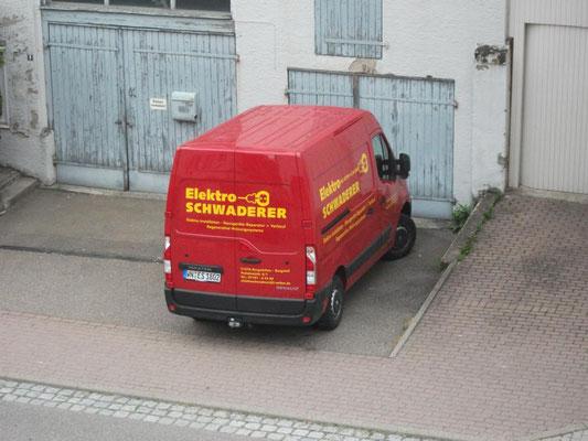 Heckbeschriftung Fahrzeug, Handwerker,  Backnang