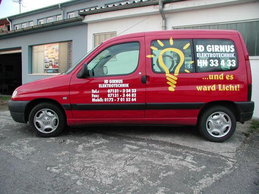 Fahrzeugfolierung Handwerker