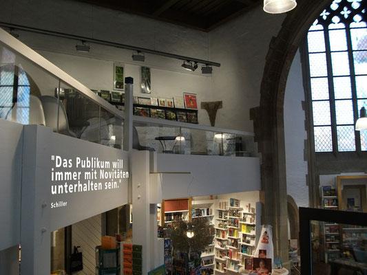 Wendelinskapelle Buchhandlung Taube in Marbach