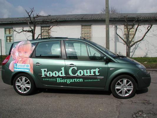 Fahrzeugfolierung Gastronomie