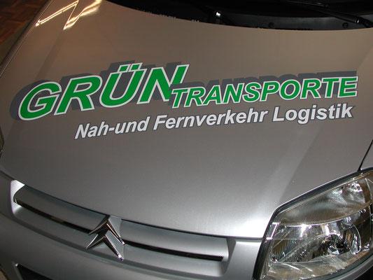 Backnang und Winnenden Folierung Fahrzeug Haube