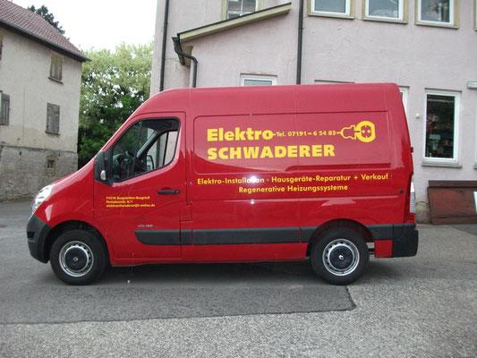 Backnang Fahrzeugfolierung, Schwaderer, Shilouette