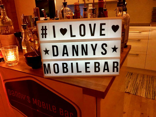 I LOVE DANNY'S MOBILE BAR :-)