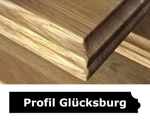 Fensterbank Eiche geölt Profil Glücksburg
