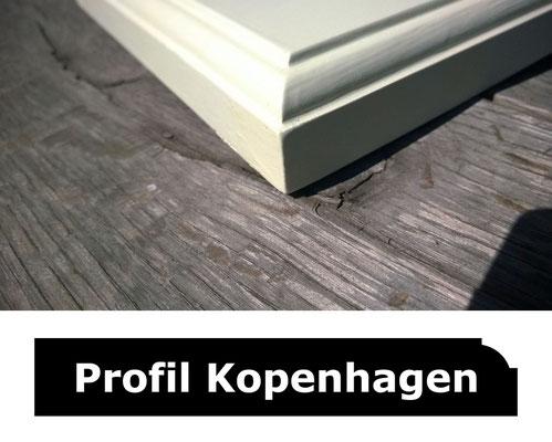 Fensterbank weiss Profil Kopenhagen