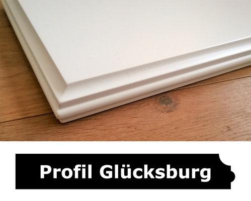 Fensterbank weiss Profil Glücksburg