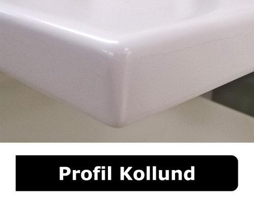 Fensterbank weiss Profil Kollund