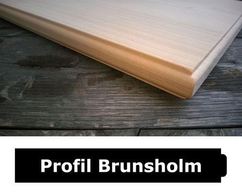 Fensterbank Kiefer unbehandelt Profil Brunsholm