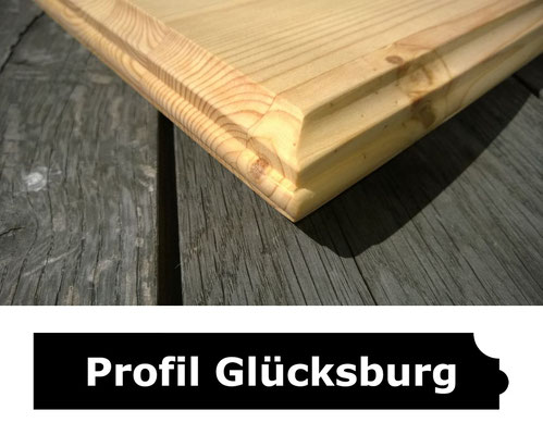 Fensterbank Kiefer geölt Profil Glücksburg