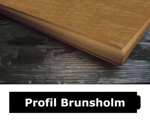 Fensterbank Eiche klar lackiert Profil Kollund