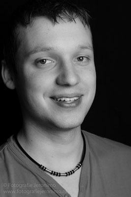 Fotografie, Jeronimo, Roosendaal, Brabant, portretfotografie, portretfotograaf, fotoshoot, portret, zwartwit, 26