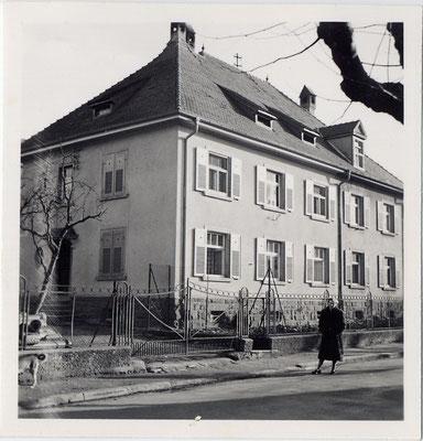 Schulstraße 4 im Jahre 1954.