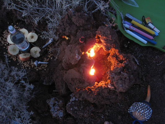 Kerzen-Ritual...