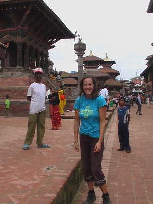 Having a laugh in Kathmandu