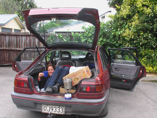 Living in and out of a car for 6 weeks in New Zealand