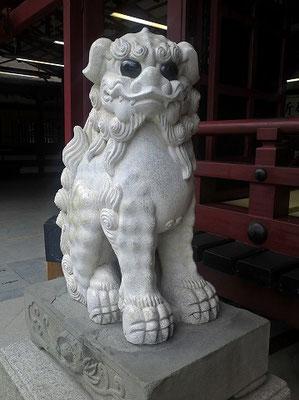太宰府天満宮狛犬01(吽形)