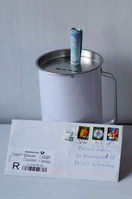 08.12.15 / Spende per Post von Markus Haus