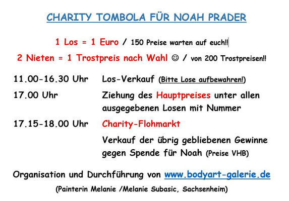 19.12.15 / TOMBOLA AUF DEM SCHÜLKE HOF - Perfekt organisiert ;)
