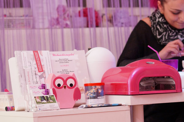 Wollspenden von Pink Purple Nails in Bietigheim-Bissingen - Charity-Aktion, 11.12.15