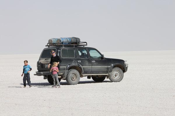 Privatreise im 4x4 über den Salzsee von Uyuni