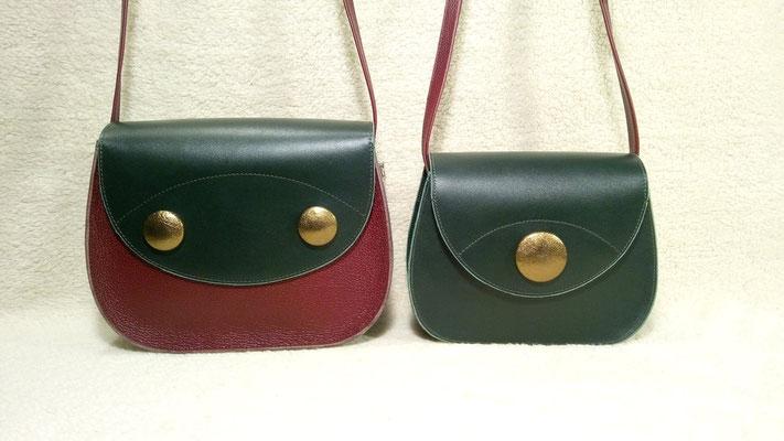 Le sac Anna et le sac Mini Anna- Bali Coco maroquinerie - 115€ et 95€