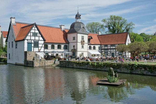 Wasserschloss Haus Rodenberg mit Gräfte, Do-Aplerbeck