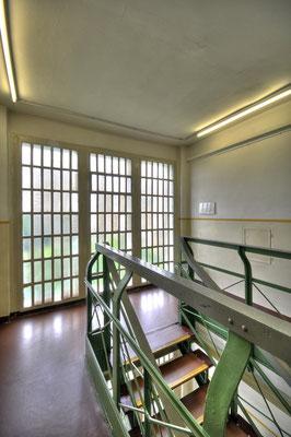 Steinwache, Dortmund - Treppenhausfenster
