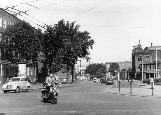 Das alte Theater (Kreuzung Hansastr./Hiltropwall)