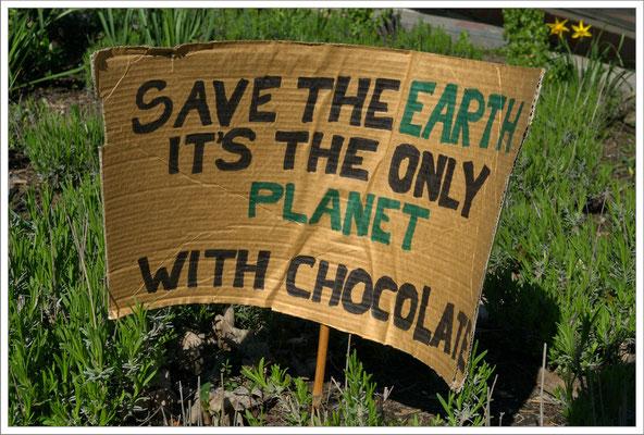 Save the world...
