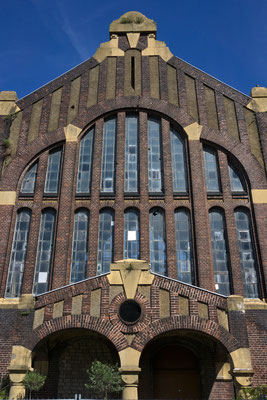 Lohnhalle der denkmalgeschützten ehem. Zeche Westhausen | Juni 2016