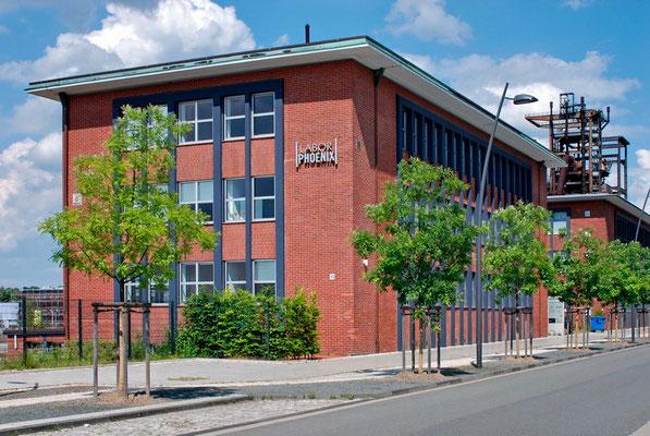 Phoenix-West, Dortmund - Hörde | Laborgebäude (Mitte 1950er Jahre)