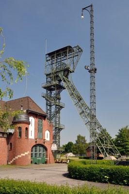 Zeche Zollern II/IV, Dortmund-Bövinghausen - Wetterschacht IV