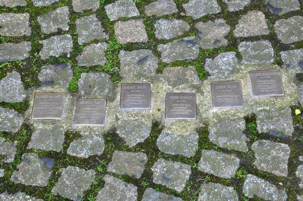 """Steinwache, Dortmund - Gefängnishof, """"Stolpersteine"""""""
